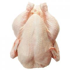 The chicken carcass
