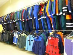 Working clothes in Tashken