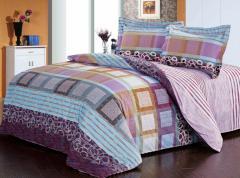 Комплект постельного белья х/б,  1, 5-спал....