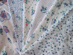 Fabrics byazevy, cotton, chintz, wafer, cloths