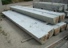 Beams reinforced concrete from the producer of