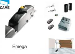 Drives for garage gate of Emega