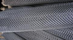 Grid galvanized chain-link