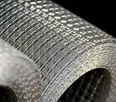 Grid galvanized welded in rolls