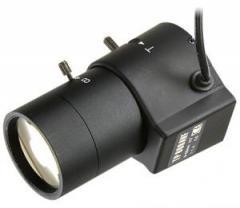 Varifokalny lens of 2.8-12 mm