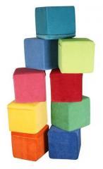 Padded stool cube