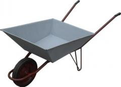 Wheelbarrow construction one-wheeled T170