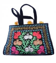 Bags with a national ornamen