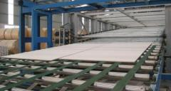 Lines for production of gypsum cardboard