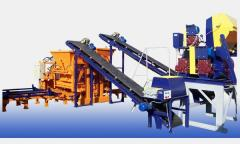 Equipment for production of building materials