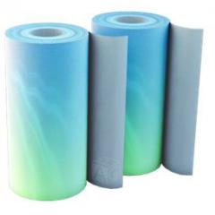 Rolled packaging material
