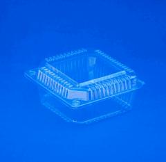 Container of transparent dessert 95 mm