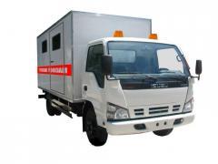 Emergency car workshop