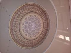 Натяжной потолок Орнамент фотопечать
