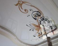 Натяжной потолок фотопечать (абстракция)