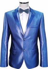 Костюм мужской модельный синий