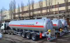 Полуприцеп-топливозаправщик ППЦТ-27