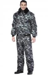 Alabama jacket the warmed camouflage gray