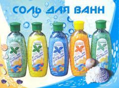 Sea salt with essential oils