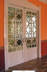 Doors are decorative