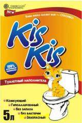 Fillers for cat's toilets of KIS KIS