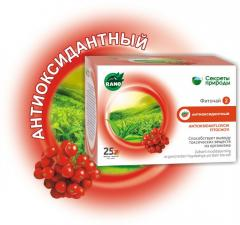 Antioxidant phytotea No. 25 For removal of toxins,