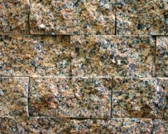 Plates are granite facing