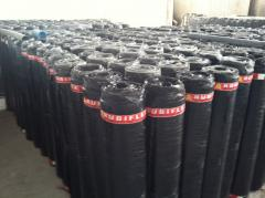 Waterproofing bituminous and polymeric material of