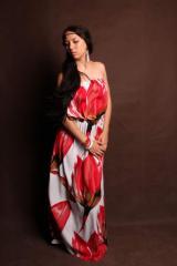 El vestido largo en el suelo PLD-0001