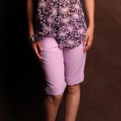 Capri from natural KL-0001 fabric.