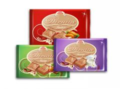 Tiled Divaine chocolate