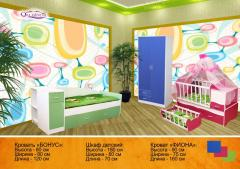 Beds, table, case children's