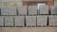 Production of concrete blocks