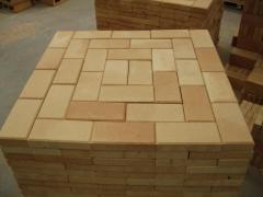 Fire-resistant brick