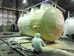 Thermal insulation Polyurethane foam (PPU)