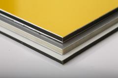 Aluminum composite ALSTAR panels