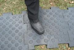 Покрытия напольные резиновые