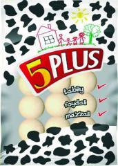 5 Plus Curt small, round