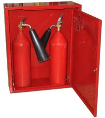 Cases fire for fire extinguishers