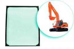 Windshield for special equipment of How