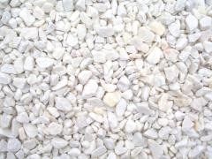 Crushed stone marble, crumb marble
