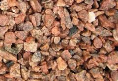 Crushed stone granite