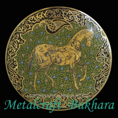 Plate decorative of brass 30-6