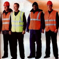 Vests are protective universal alarm
