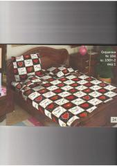 Постельное белье полутора и двухспальное из