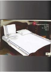 Bed linen of one and a half and two-sleeping of