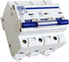 Модульные автоматические выключатели Andeli серии