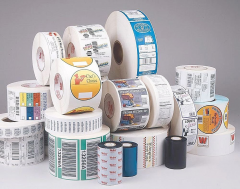 Labels are self-adhesive