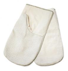 Mittens wadded of x / fabrics