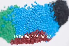 Granule polypropylene/polyethylene